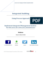 PROCESS BASED _AUDIT _in ISO 9001_14001_18001_22000_27001