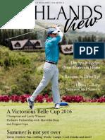 Highlands View Magazine Vol.21 No.2-2016