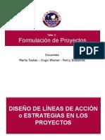 Sesión 10 - Metodología Taller 2 2012-2 FGAD (Estrategias o Lineas de Acción)