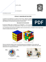 Informe Cubo Rubik
