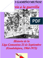 Del barrio a la guerrilla. La historia de la Liga Comunista 23 de septiembre (Guadalajara, 1964-1973)