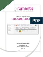 Romantis Manual UHP.ugo.EN3.0