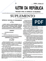 Evolucao Constitucional Na Republica de Mocambique