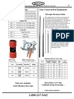 Line Construction Equipments