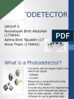 Photodetector (Finalized)