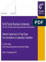 50-50 Family Business Conference Victorzheng