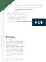 CAPACITACION DOCENTE - Evaluación institucional para el mejoramiento de la calidad educativa