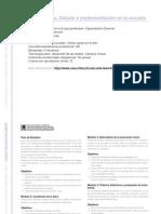 CAPACITACION DOCENTE - Formación ética. Debate e implementación en la escuela