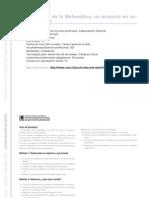CAPACITACION DOCENTE - La enseñanza de la Matemática, un proyecto en acción - Primario