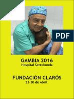 Viaje Humanitario Gambia 2016