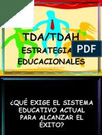Estrategias Educacionales TDAH
