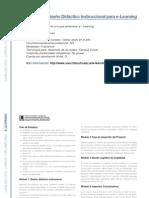 E-LEARNING - Diplomado en Diseño Didáctico Instruccional para e-Learning