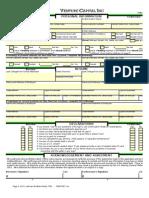 Venture Capital Inc Loan App Full Doc