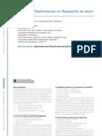 GOBIERNO - Programa de Teleformación en Regulación de Servicios Públicos