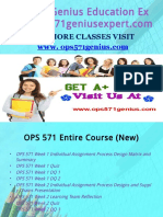 OPS 571 Genius Education Expert/ops571geniusexpert.com