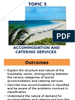 5 Accommodation and Catering Service