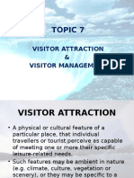 6 Visitor Attraction and Visitor Management - Lecturer Copy