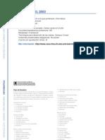 Informática - Microsoft Excel 2003