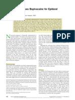Ropivacaine Versus Bupivacaine for Epidural Labor.36