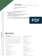 Informática - Novedades en Office 2007