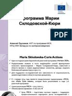 Presentation MSCA Trukhanov