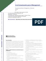 MANAGEMENT Y EMPRESAS - Gestión Eficaz de la Comunicación para el Management