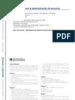 MANAGEMENT Y EMPRESAS - Herramientas para la administración de personal