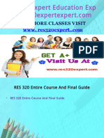 RES 320 Expert Education Expert/res320expertexpert.com