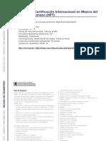 MEJORA DEL DESEMPEÑO - Programa de Certificación Internacional en Mejora del Desempeño Humano (HPT)