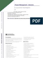 PROJECT Management - Especialista en Project Management - Intensivo