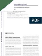 PROJECT Management - Especialista en Project Management