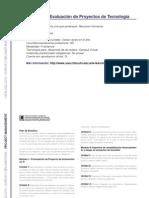 PROJECT MANAGEMENT - Formulación y Evaluación de Proyectos de Tecnología