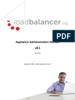 Load Balancer Administration v 8