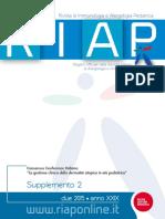 RIAP- Nuove Lineee Guida Per La Gestione Della Dermatite Atopica