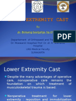 Lower extremity casting