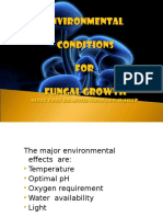 11thenvironmental Factors of Fungal Growth