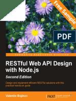 RESTful Web API Design with Node.js - Second Edition - Sample Chapter