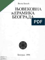 Vesna Bikic Srednjovekovna Keramika Beograda Low-libre