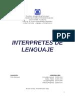 Monografia Interprete