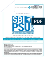 SBI PSU Fund NFO Application Form