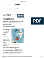 Beyond Functions