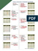 Calendar RWA 2010-2011