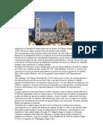 Comentario Cúpula de La Catedral de Santa María de Las Flores