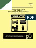 AIPD Subcourse DI0450 Edition 9