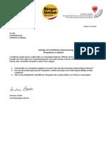 Tierquälerei - Landtagsanfrage L.Abg. Andreas Pöder und Antwort