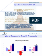 India;s Foreign Trade Policy