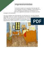 5 obras impresionistas