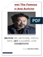 Ai Weiwei The famous artist and activist