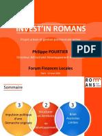Présentation P.Pourtier Romans