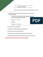 General Abaqus Checklist (1)